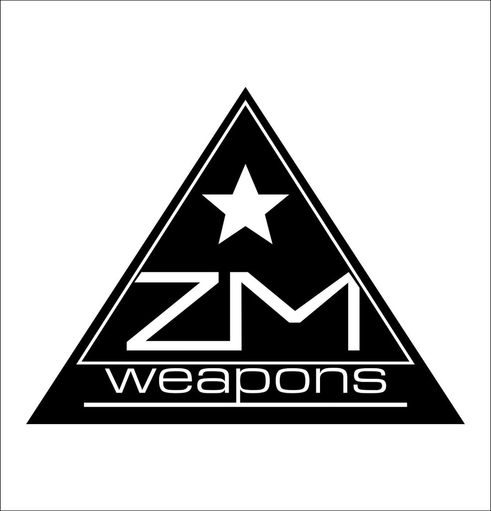 ZM Weapons decal, sticker, firearm decal