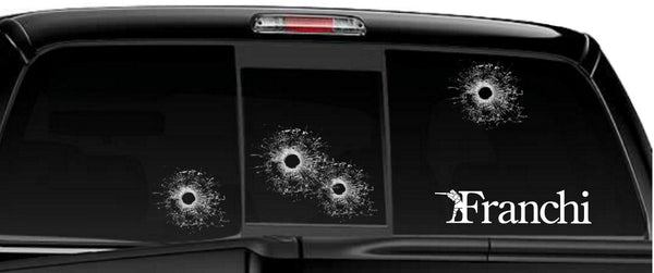 Franchi decal, sticker, firearm decal