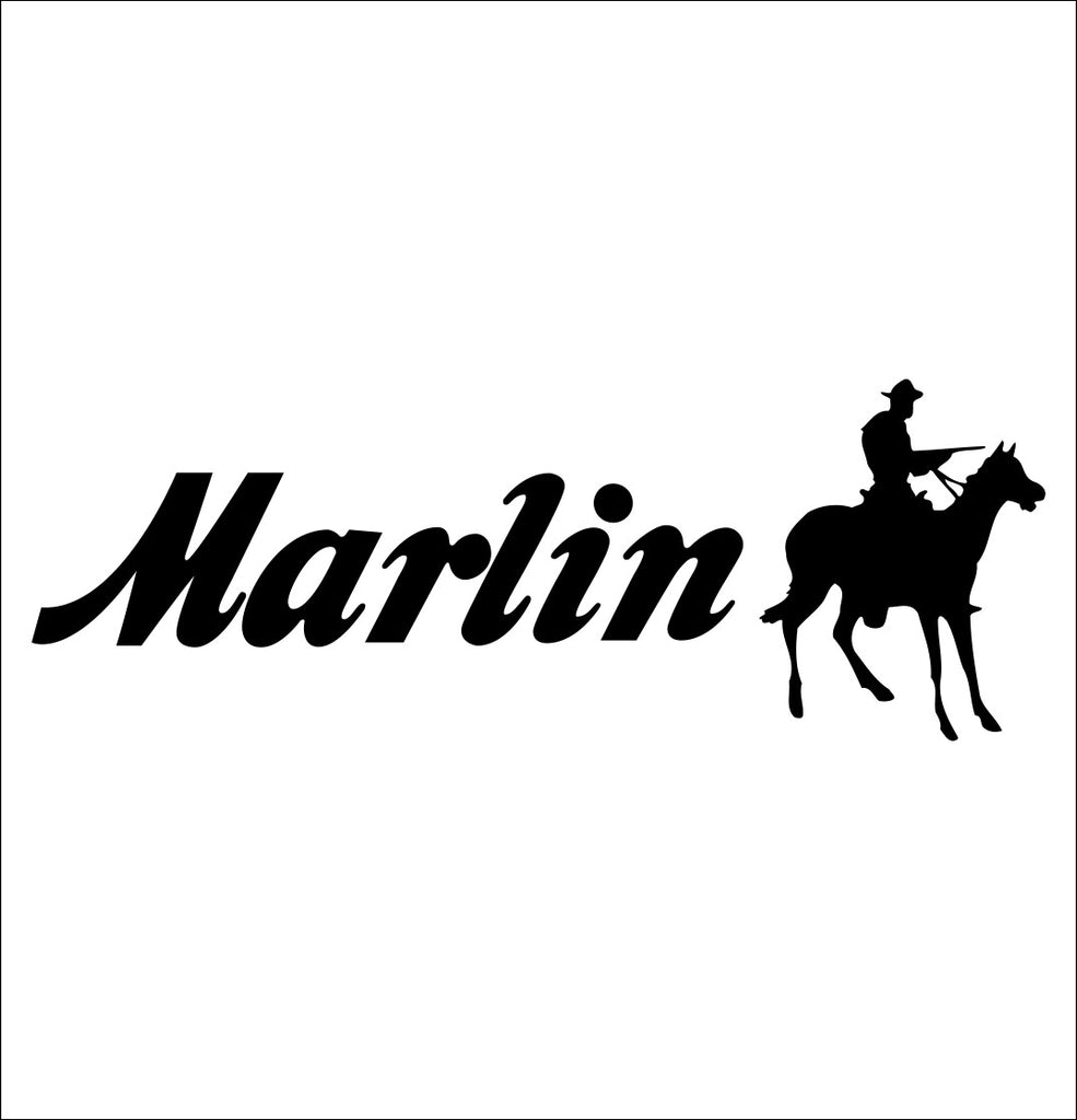 Marlin decal, sticker, firearm decal