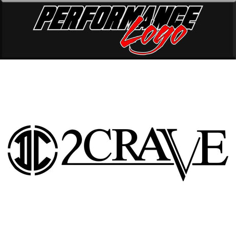 2crave wheels decal, performance car decal sticker