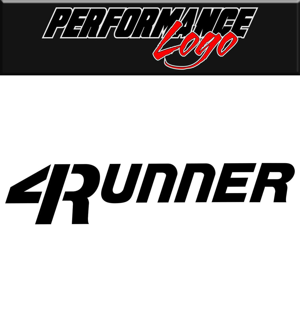 4runner performance logo decal - North 49 Decals