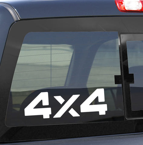 4X4 14 4x4 offroad decal - North 49 Decals