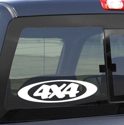 4X4 16 4x4 offroad decal - North 49 Decals