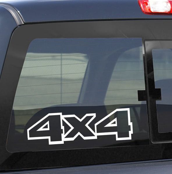 4X4 17 4x4 offroad decal - North 49 Decals