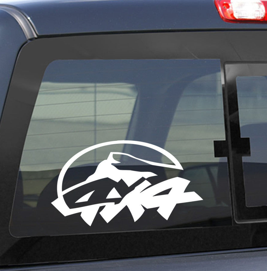 4X4 19 4x4 offroad decal - North 49 Decals