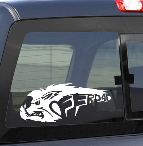 4X4 23 4x4 offroad decal - North 49 Decals