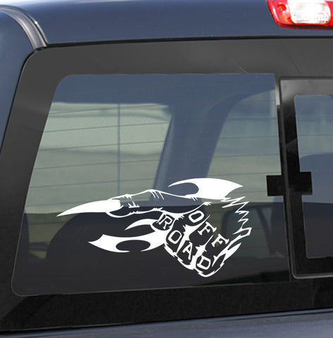 4X4 25 4x4 offroad decal - North 49 Decals
