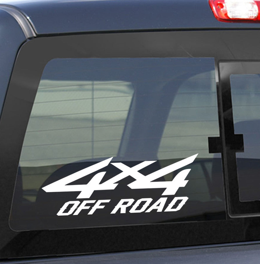 4x4 2 4x4 offroad decal - North 49 Decals