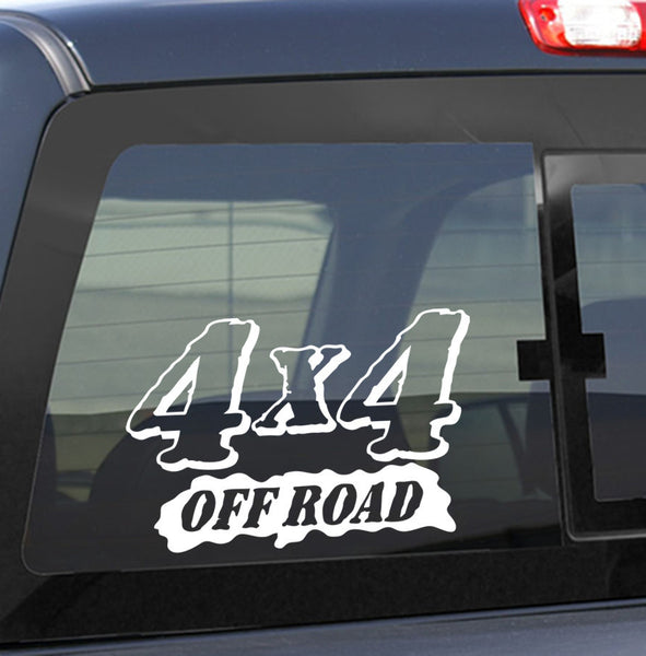 4x4 3 4x4 offroad decal - North 49 Decals