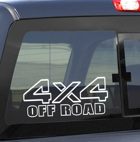 4x4 5 4x4 offroad decal - North 49 Decals