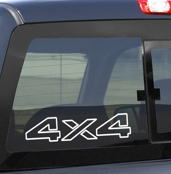 4x4 6 4x4 offroad decal - North 49 Decals