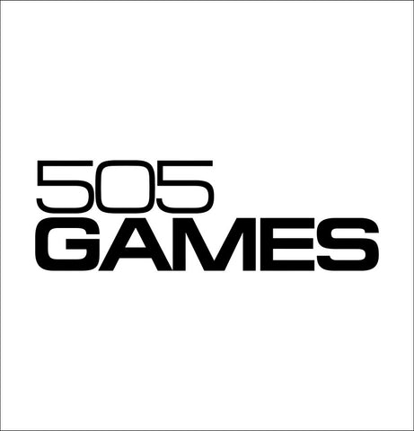505 Games decal, video game decal, sticker, car decal