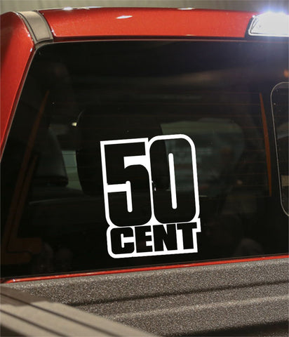 50 cent band decal - North 49 Decals