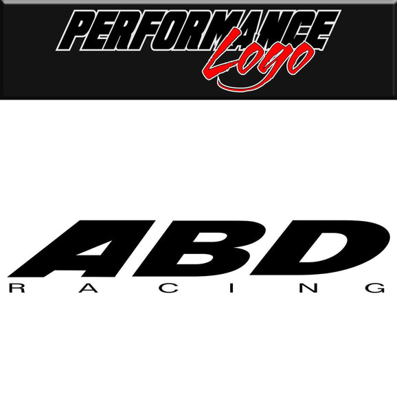 abd racing performance logo car decal sticker- North 49 Decals