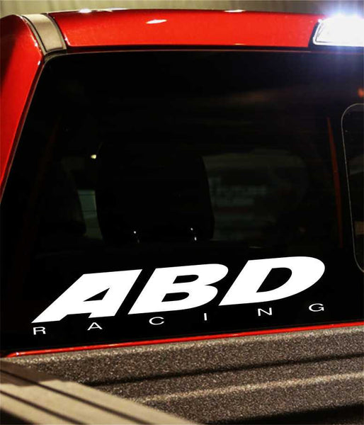 abd racing performance logo decal - North 49 Decals