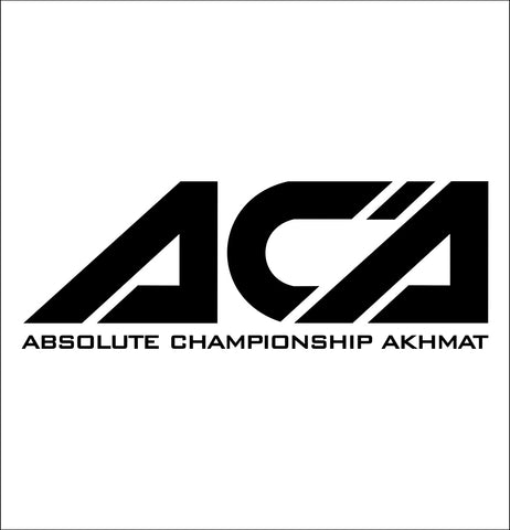 ACA decal, skateboarding decal, car decal sticker