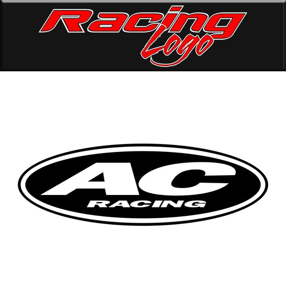 AC Racing decal, racing sticker