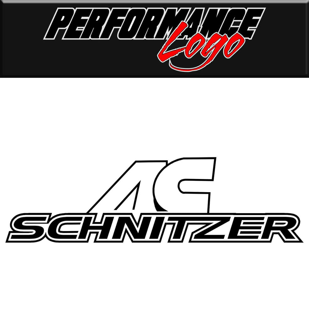 ac schnitzer performance decal car decal sticker