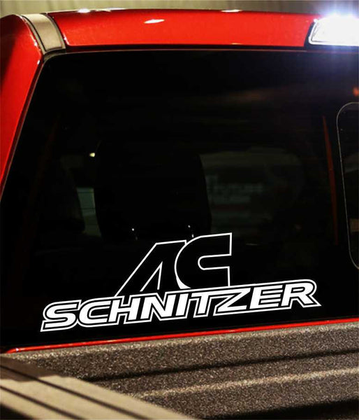 ac schnitzer performance logo decal - North 49 Decals