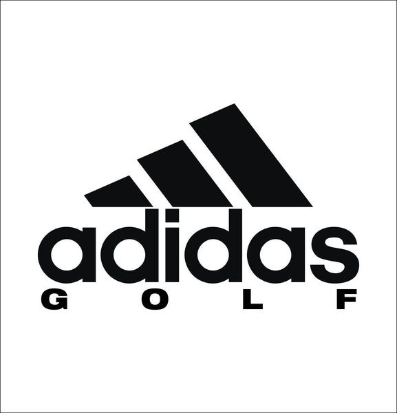Adidas Golf decal, golf decal, car decal sticker