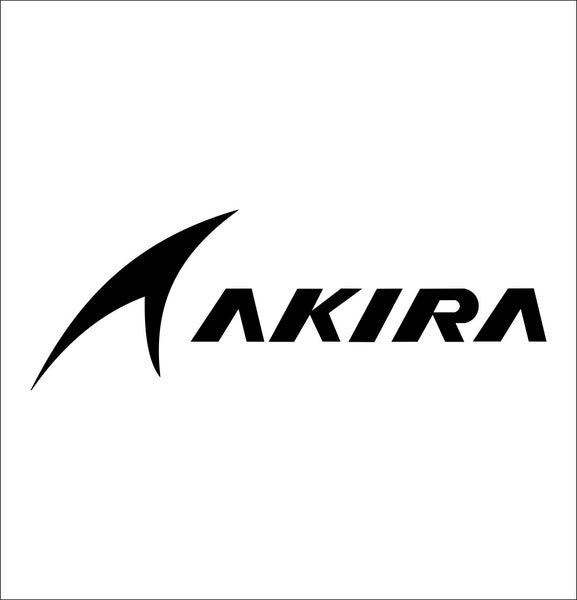 Akira decal, golf decal, car decal sticker