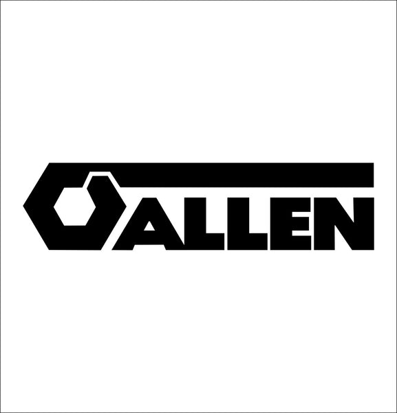 allen tools decal, car decal sticker