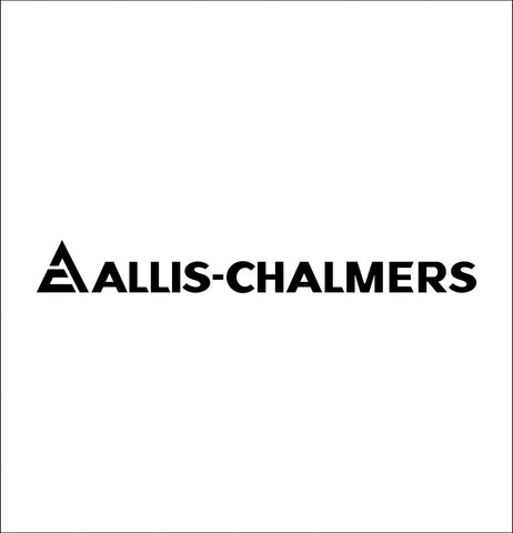 Allis Chalmers decal, farm decal, car decal sticker