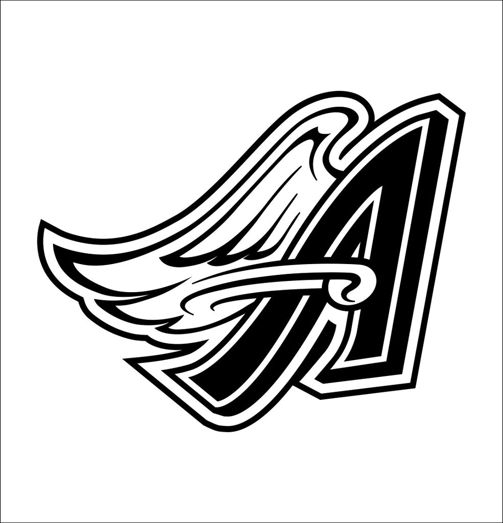 Anaheim angels decal, car decal sticker