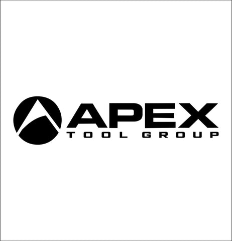 apex tool group decal, car decal sticker