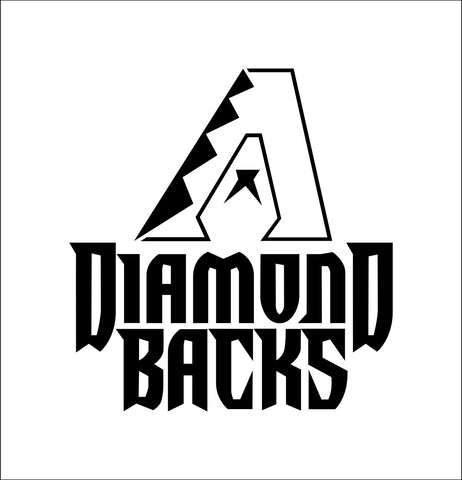 Arizona Diamondbacks decal, car decal sticker