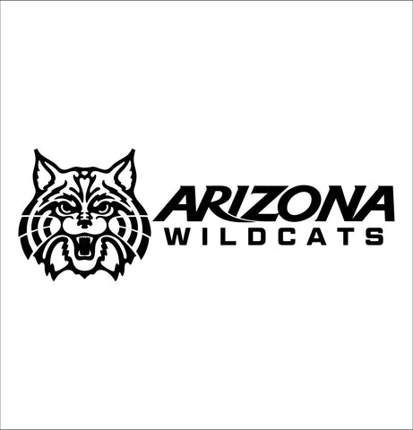 Arizona Wildcats decal, car decal sticker, college football