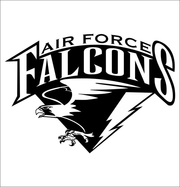 Air Force Falcons decal, car decal sticker, college football