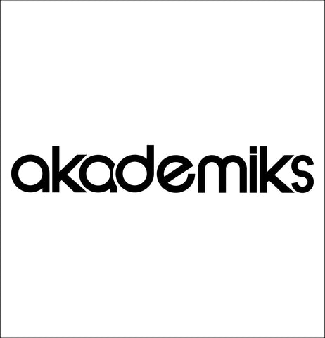 Akademics decal, car decal sticker