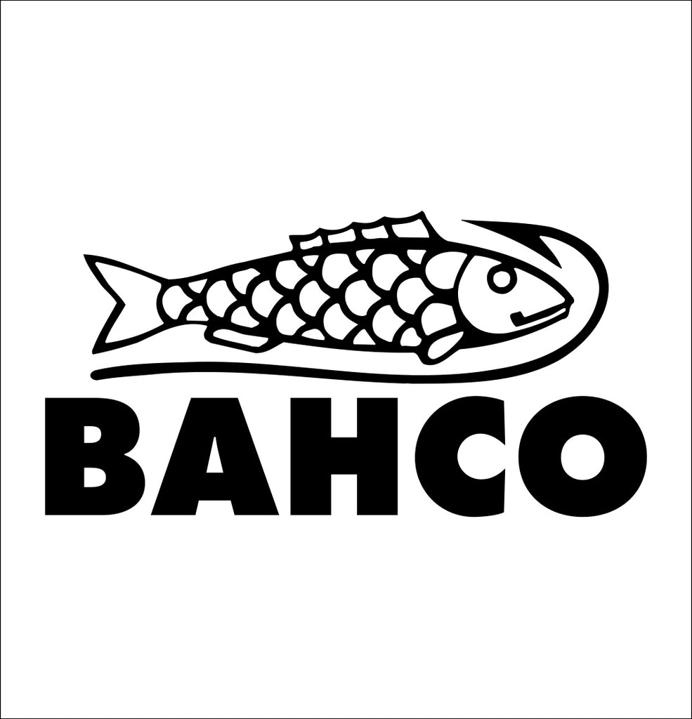 bahco decal, car decal sticker