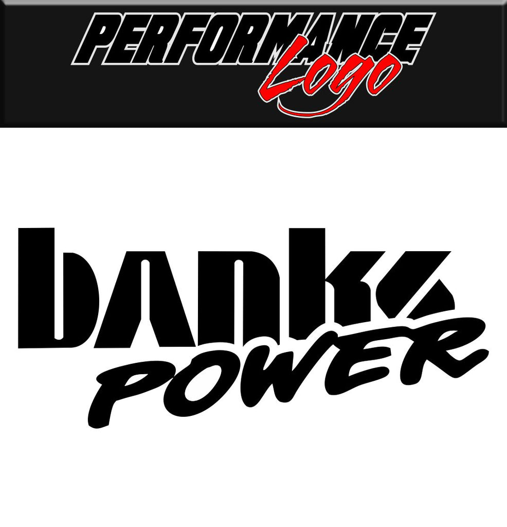 Banks Power decal performance decal sticker