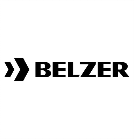belzer tools decal, car decal sticker