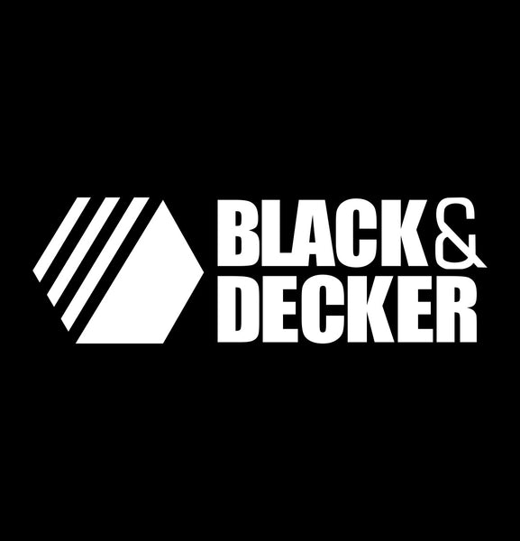 black & decker decal, car decal sticker