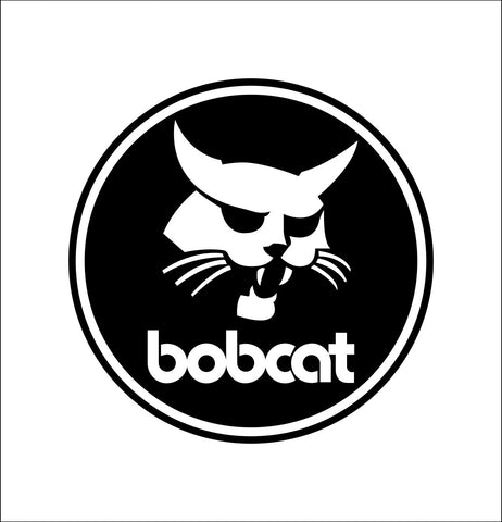 Bobcat decal, farm decal, car decal sticker