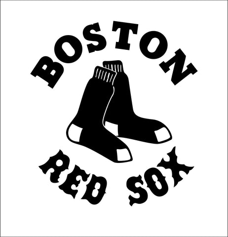 Boston Red Sox decal, car decal sticker