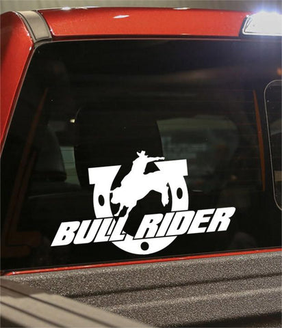 bull rider country & western decal - North 49 Decals