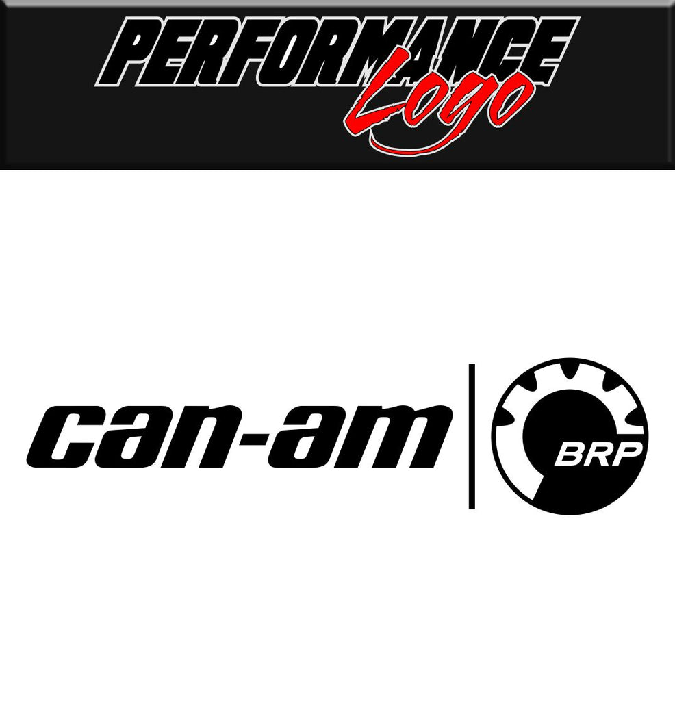 Can-am BRP decal performance decal sticker