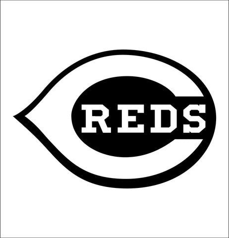 Cincinnati Reds decal, car decal sticker