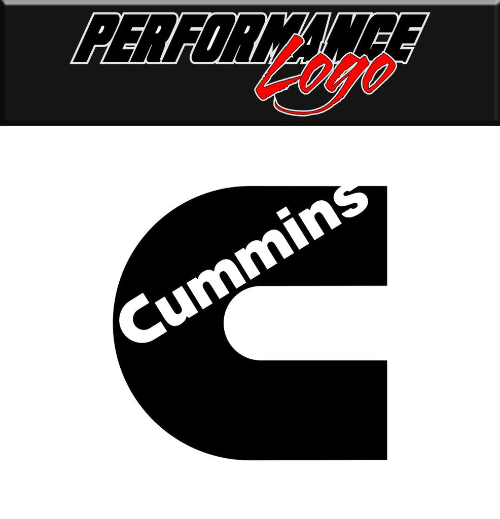 Cummins decal performance decal sticker
