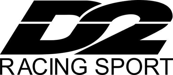 D2 Racing decal, racing sticker