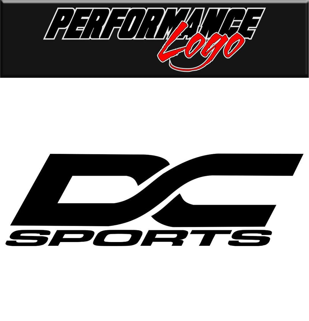 DC Sports  decal performance decal sticker