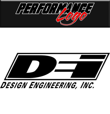 Design Engineering decal performance decal sticker