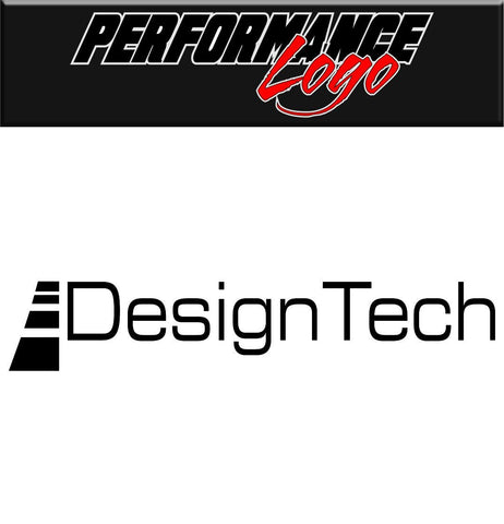 Design Tech decal performance decal sticker