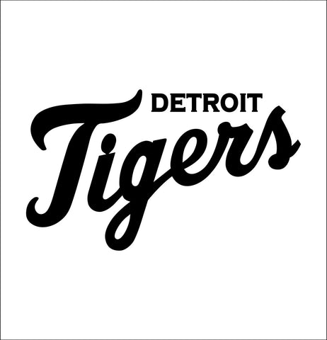 Detroit Tigers decal, car decal sticker