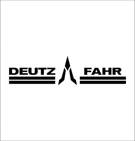Deutz Fahr decal, farm decal, car decal sticker