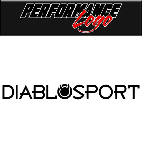 diablosport performance logo decal - North 49 Decals